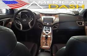 hyundai elantra l 2015 2014 2015 2016 interior wood dash trim kit set for hyundai elantra