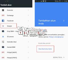 buat akun google facebook daftar email gmail cara membuat akun google di hp android baru