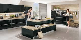 cuisine bois beautiful cuisine noir et blanc et bois pictures design trends