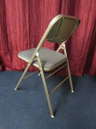 lot detail vintage samsonite metal folding chair