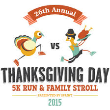 pilgrims vs turkeys compete at 26th annual thanksgiving day 5k