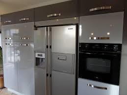 cuisine avec frigo americain cuisine am nag e r alisations caen cuisine avec frigo americain