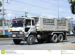 mitsubishi thailand old mitsubishi 10 wheel dump truck editorial image image 64316830