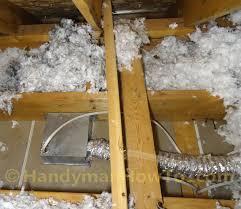 how to install a panasonic whisperceiling bathroom vent fan