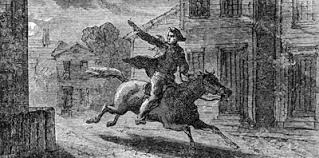 paul revere s ride book what happened to the two other men on paul revere s ride