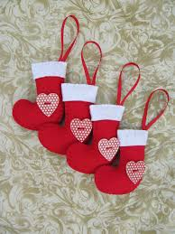 hattifers hand sewn gifts felt christmas stockings red 2 the