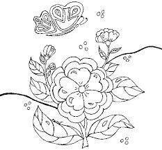 dibujo flores ii colorear dibujos net