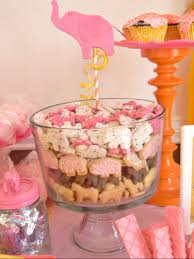pink punk martini circus baby shower party ideas circus cookies display and babies