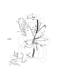 electrical diagram u0026 parts list for model 917273100 craftsman