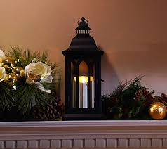 luminara 15 cathdral candle lantern by bethlehem lights candle