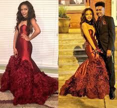 2016 prom dresses maroon burgundy strapless sleeveless