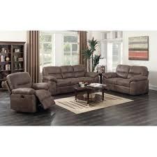 Leather Or Microfiber Sofa by Microfiber Living Room Sets You U0027ll Love Wayfair