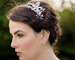 wedding hair bands rhinestone appliqué wedding headband zara jules bridal jewellery