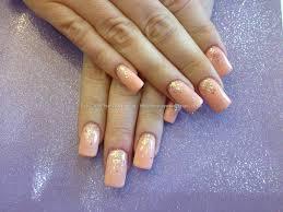 eye candy nails u0026 training acrylic nails with soft peach gel