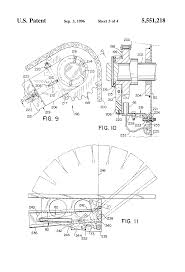 patent us5551218 round baler monitoring and control system