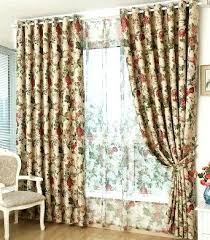 Vintage Floral Curtains Vintage Floral Curtains Teawing Co