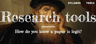 tools how do you know a paper is legit