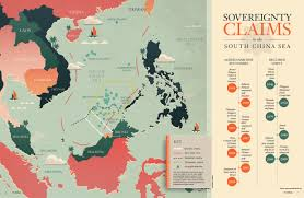 South China Sea Map by China U0027s Most Dangerous Game Indo Asia Pacific Defense Forum