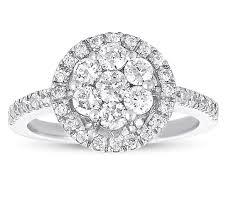 cluster rings cluster rings springfield jewelry exchange