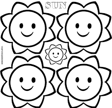 sun coloring pages coloring pages to download and print