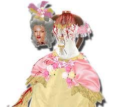 Marie Antoinette Halloween Costume Marketplace Decapitated Marie Antoinette Costume