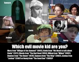 which evil movie kid are you playbuzz