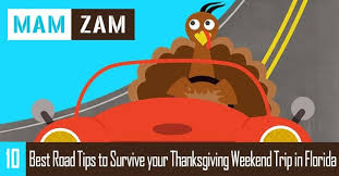 10 best road tips to survive your thanksgiving trip in florida