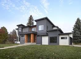 Modern Home Design Edmonton Exteriors Photo Gallery Edmonton Home Builders