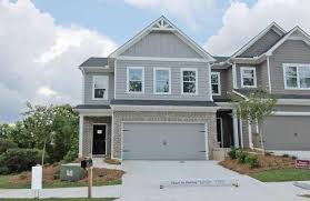 atlanta attached residential with 2 car garage
