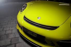 porsche yellow paint code is techart u0027s lime yellow porsche 911 targa 4 refreshing or nauseating