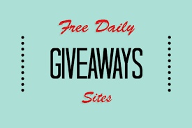 list of free daily giveaways