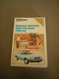 nissan pulsar 1982 chilton repair manual nissan sentra 100 images haynes repair