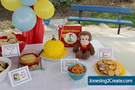 Curious George Curtains Curious George Birthday Party Ideas Concept Cafemomonh Home