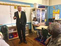 senate education chair meets with parent power at peirce elementary