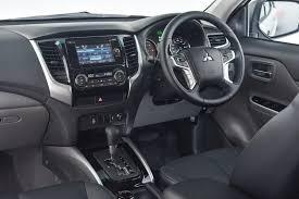 mitsubishi shogun 2017 interior mitsubishi triton 2017 first drive cars co za
