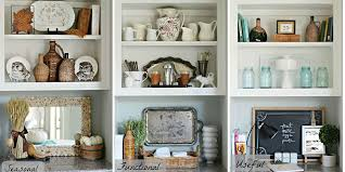Bookcase Decorating Ideas Living Room One Bookshelf Three Ways Bookshelf Decorating Ideas