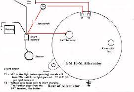 wiring diagram for a gm alternator u2013 the wiring diagram