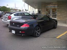 bmw ontario bmw m6 spotted in virgil ontario canada on 09 05 2011