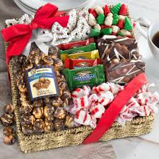 candy gift basket classic chocolate candy and crunch gift basket ag0002