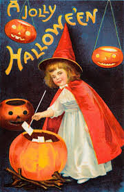 halloween vintage images vintage halloween cards from a century ago