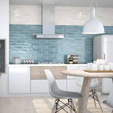blue kitchen tiles cifre opal brick shaped tiles for walls fast delivery free sles