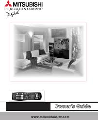 mitsubishi diamond tv mitsubishi electronics projection television ws 65711 user guide