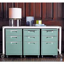 Teal File Cabinet Roomations Stylish File Cabinets