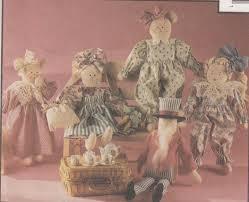 mccalls crafts 5513 doll u0026 animals sewing pattern home decor