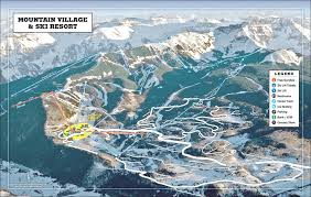 Colorado Tourism Map by Visitor Information Official Telluride Tourism Board