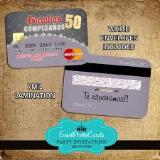wonderful credit card party invitations 50 for your invitation