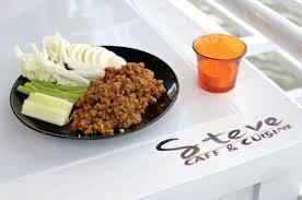 cuisine a ร าน steve café cuisine เป นร านอาหารไทยร มแม น ำ ท นำเสนอรสชาต
