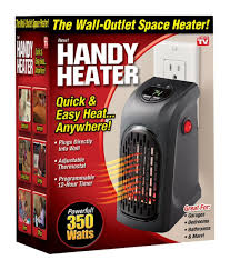 wall mount garage heater amazon com ontel products corp handy heater plug in home u0026 kitchen