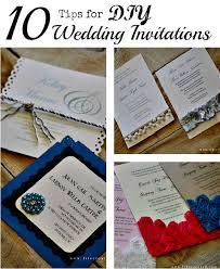Diy Wedding Invitation Easy Diy Wedding Invitations Something Borrowed Wedding Diy