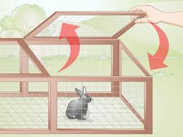 How To Build A Solid Wood Door 3 Ways To Build A Rabbit Run Wikihow